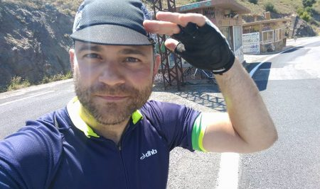 Yavor Atanassov — End of a Bike Journey with a Cause
