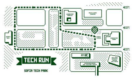 """Шампионатът по бягане TechRun ще подкрепи за втори път """"Заедно в час"""""""