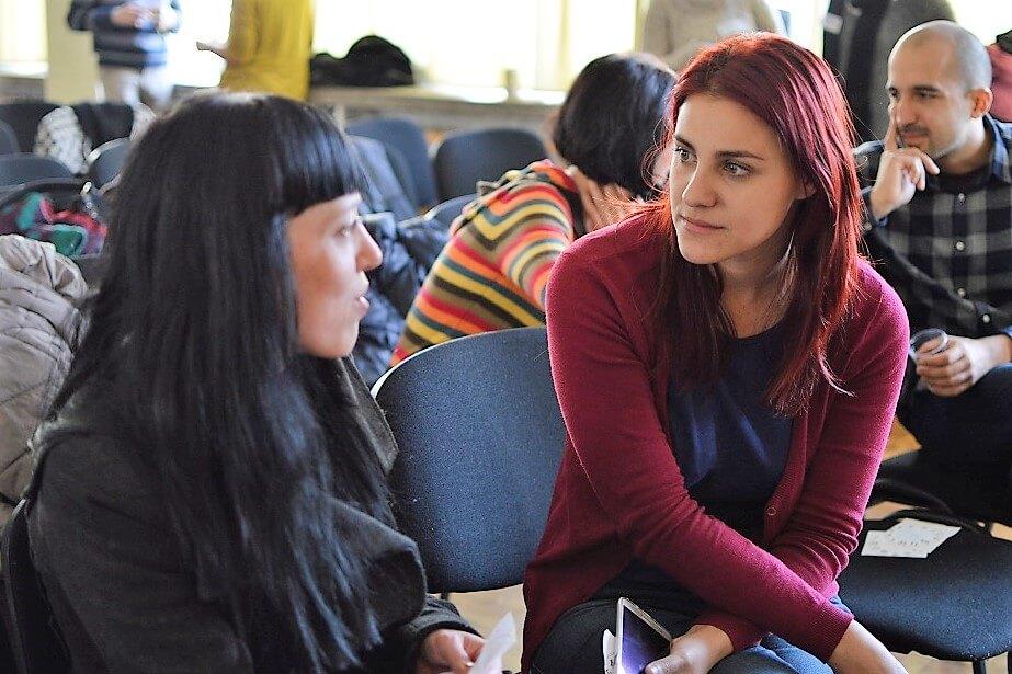 учители от Заедно в час разговарят за професионалното си развитие