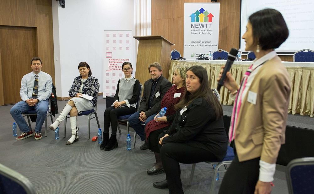 Работилница по време на финалната конференция на NEWTT проект