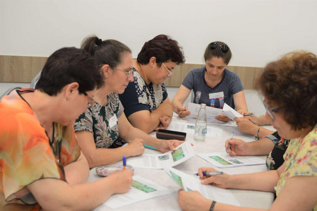 Учители работят по проект Fierst