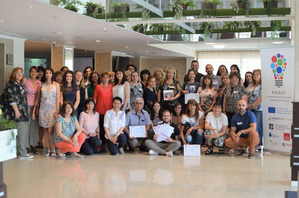 FIerst Всички участници обща снимка