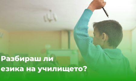 Колко важно е да разбираш езика на училището