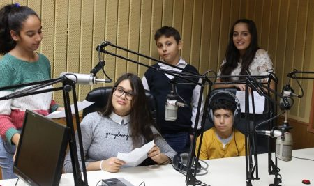 A School Radio for Children Whose First Language Is Not Bulgarian Is Set to Improve Their Language Skills