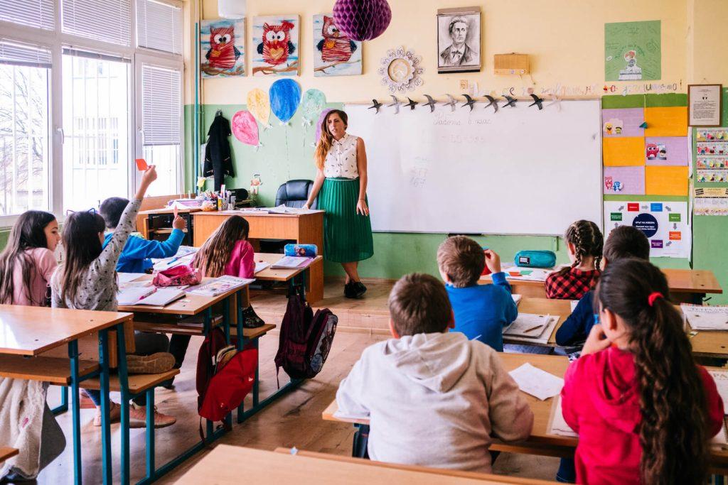 учителка от Заедно в час