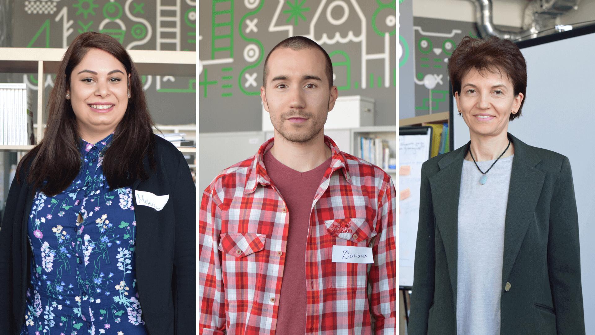 трима от новите учители на Заедно в час