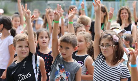 The tenth summer academy of Teach for Bulgaria began with more than 650 students
