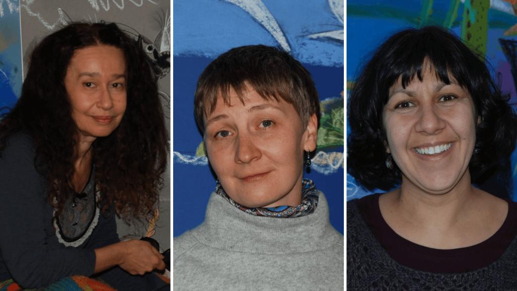 Елица Попова, Анастасия Новикова и Вяра Михайлова от EducArt