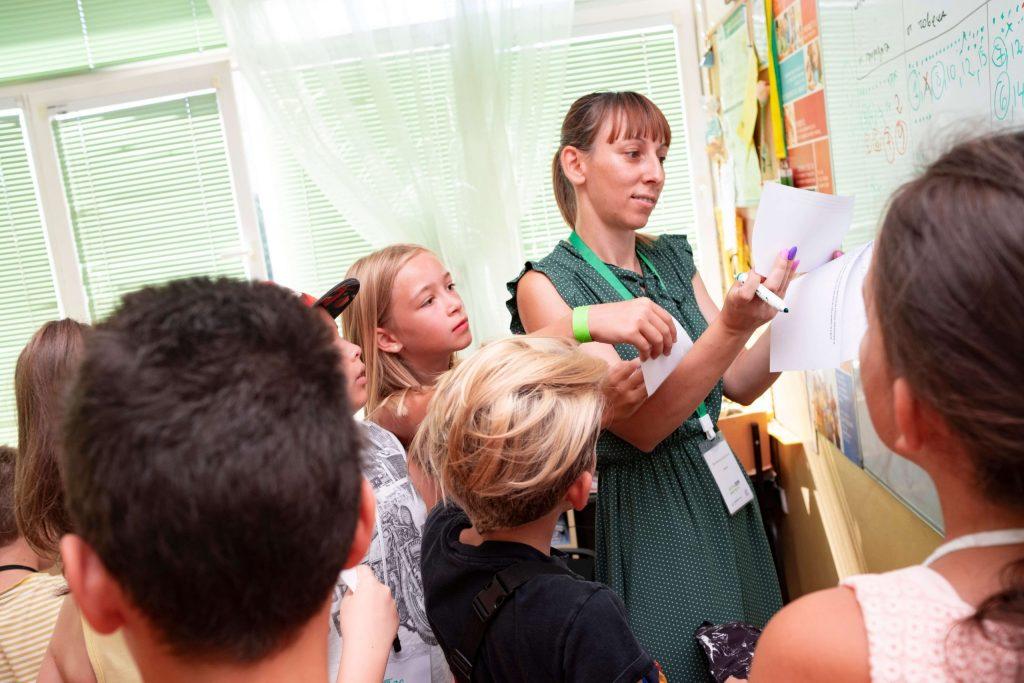Ангелина Джурова по време на лятната академия на Заедно в час през 2019 г